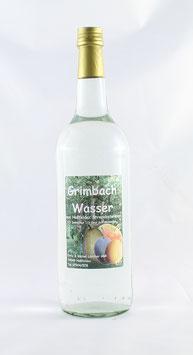 Grimbachwasser Obstbrand, 40%.