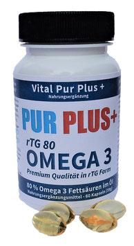 ProduktnamePUR PLUS+ OMEGA 3 - rTG 80 - Weihnachtsaktion 2020 - 12 Dosen