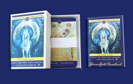 Das Kartendeck mit 44 Karten inklusive Handbuch.