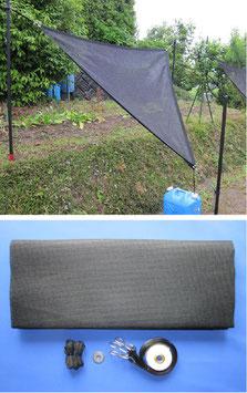 雨水簡易集水ネット「雨葉」