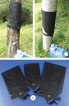 樹木・人工支柱集水ネット「雨葉」