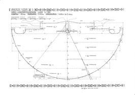 Pläne für den Bau eines Jagd-Tipis mit Ø 5,8 m