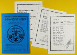 Textblätter zur CD Lieder der Indianer Nordamerikas