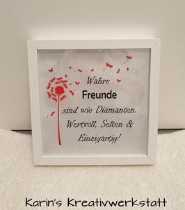 """LED Bilderrahmen """"Wahre Freunde"""""""