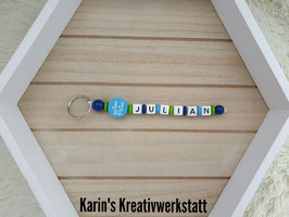 """Schlüsselanhänger """"1 Strang"""" mit Motiv"""