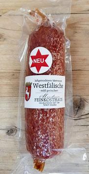 Westfälische Mettwurst - mild geräuchert - 300 Gramm
