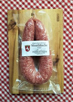 Westfälische Mettwurst - Kringel - 285 Gramm