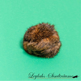 205 - Klingelball Kaninchen Rotbraun
