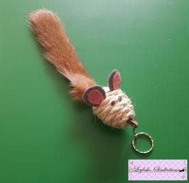 175 - Schlüsselanhänger Mäuschen Kaninchen