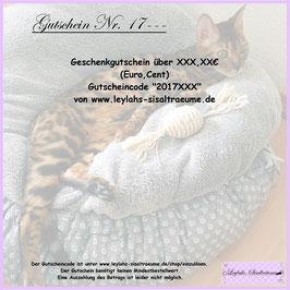 998 - Geschenk-Gutschein