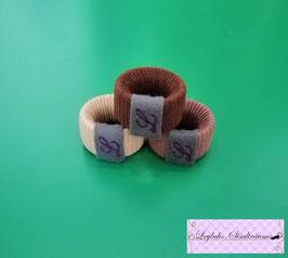 123 - Mini Lederband Ring 3er Pack