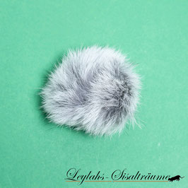 204 - Klingelball Kaninchen Silber