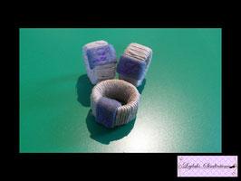 104 - Mini-Bastband Ring 3er Pack