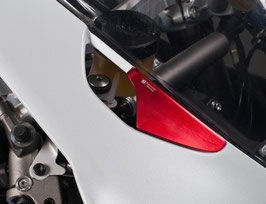 PANIGALE V4 Mirror Block Plate