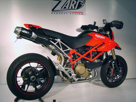 ZARD HYPERMOTARD 1100 TOP GUN SILENCER