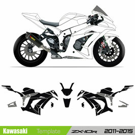 ZX10R 11-15 Template