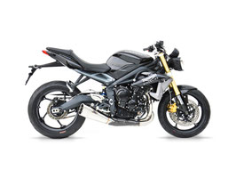 ZARD STREET TRIPLE 13-16 SHORT SILENCER