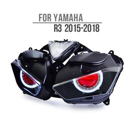YZF-R3 15-18 LED Headlight V1