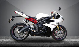 DAYTONA 675R 13-17 WILLY MADE Slip-on