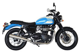 BONNEVILLE T100 05-15 70'S Slip-on