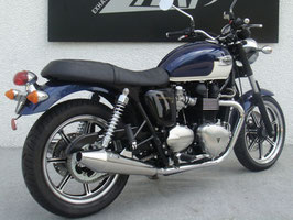 ZARD BONNEVILLE SE POLISHED SILENCER