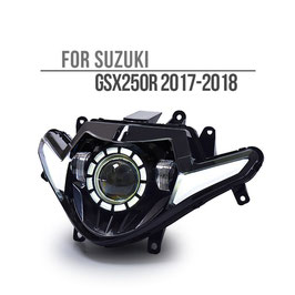 GSX250R 17-18 Headlight Round V2