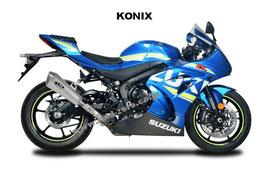 GSX-R1000 2017 Konix Slip-on