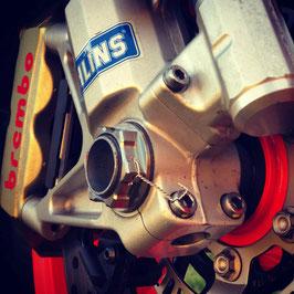 Racetorx フロントアクスルナット M25 x 1.5