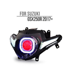 GSX250R 17-18 Headlight Square