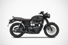 ZARD BONNEVILLE T120 BOTTLE SILENCERS