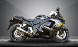 GSX1300R HAYABUSA 99-17 Flame Slip-on
