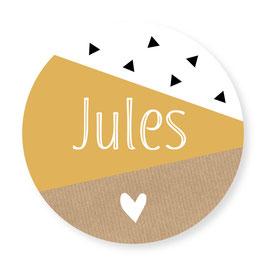 25 stuks sluitstickers geometrisch Jules