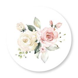 25 sluitzegel Save the Date rozen waterverf