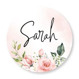 25 stuks sluitstickers rozen Sarah