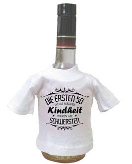 Flaschenshirt - mit Wunschtext