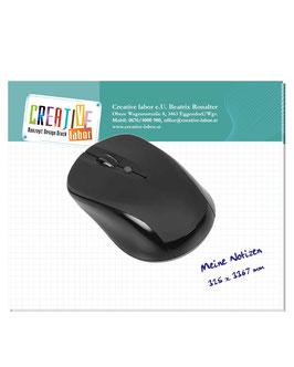 Mousepadblock - mit ihrem Briefkopf