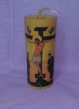 "11AQ. Kerze ""Kreuzigung Jesu"", große"