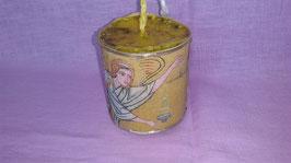 """15AQ. Kerze """"Gottes Engel hält die Waage"""""""