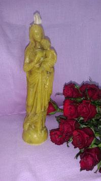 """1. Kerze """"Mutter Maria mit kleinem Jesus auf dem Arm"""""""