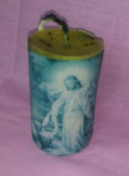 "10AQ. Kerze ""Jesus gibt Petrus die Hand"""