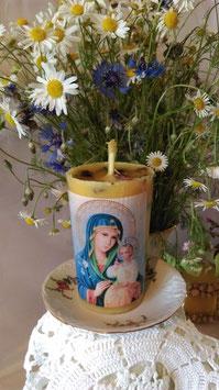 "9 A. Kerze ""Unverwelkte Blume"" (orthodoxe Ikone)"