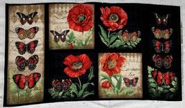 p212 Mohn und Schmetterling