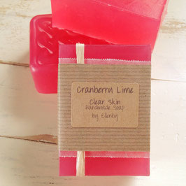 Cranberry Lime Clear Skin Soap