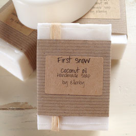 First Snow Coconut Oil Soap