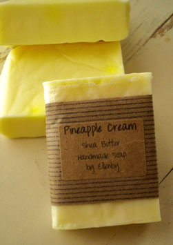 Pineapple Cream Shea Butter Soap