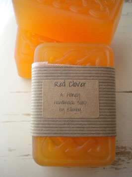 Red Clover Raw Honey Soap