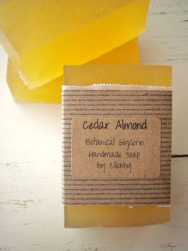 Cedar Almond Botanic Glycerin Soap