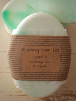 Rosemary Green Tea Coconut Oil Soap