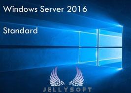 Microsoft Windows Server 2016 Standard - 16 Core