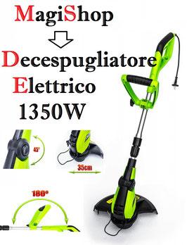 Decespugliatore Elettrico PM-PKE-1350 350mm 1350W